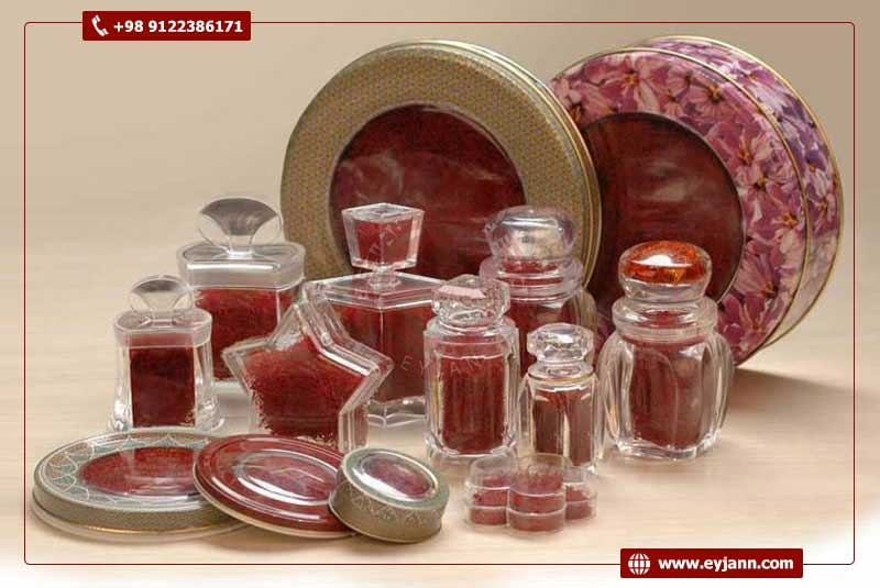 Exclusive packaging for both retail and wholesale Iranian saffron