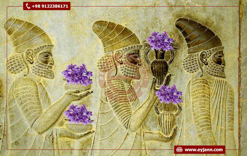 wholesale saffron history in Iran