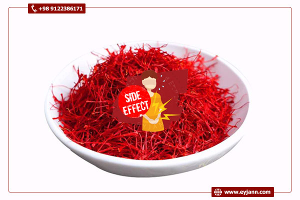 Side effects of excessive consumption of saffron